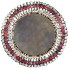 Fine Convex Shell Mirror by Tess Morley