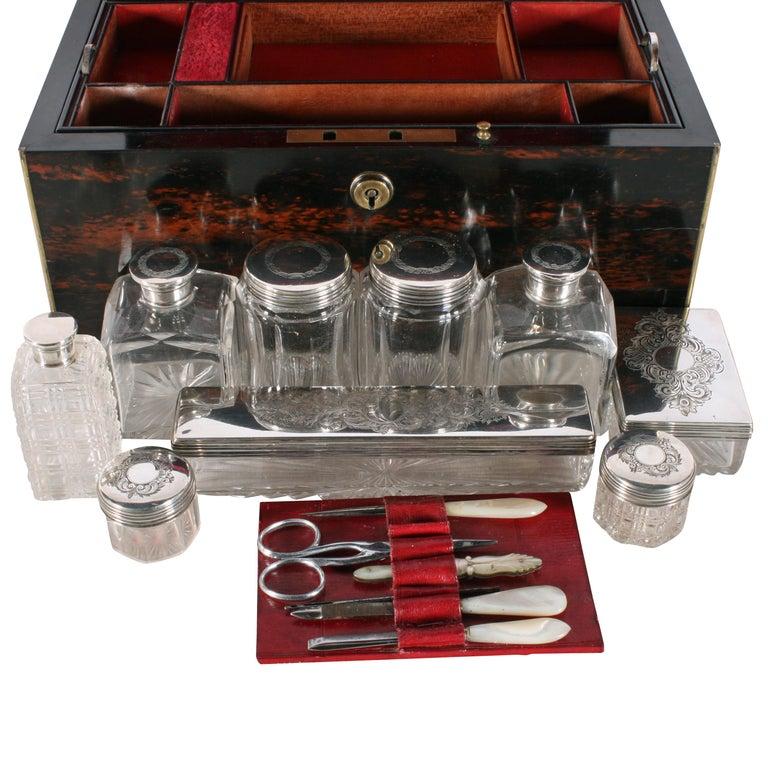 Fine Coromandel Jewelry and Dressing Box For Sale 1