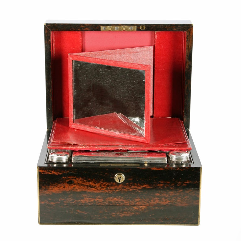 Fine Coromandel Jewelry and Dressing Box For Sale 2