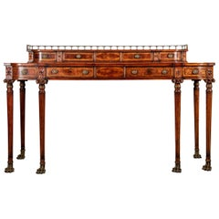Fine Craftsman Mahogany Regency Style Sideboard