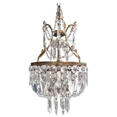 Fine Crystal Chandelier Antique Ceiling Lamp Lustre Pendant Lighting