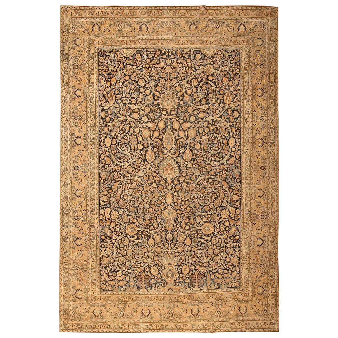 Fine Decorative Large Antique Khorassan Persian Carpet