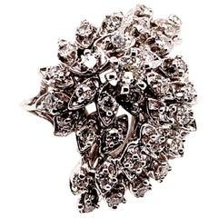 Diamond Ring 14k Gold 1 TCW Women Certified