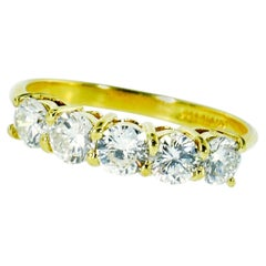 Fine Diamond and Gold Band