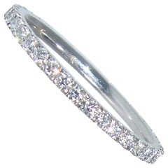 Fine Diamond Eternity Band, Pierre/Famille