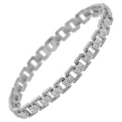 Fine Diamond Gold Tennis Bracelet