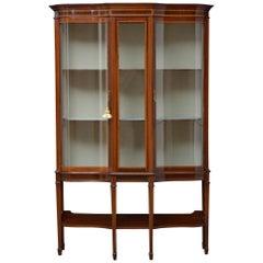 Fine Edwardian Mahogany Display Cabinet
