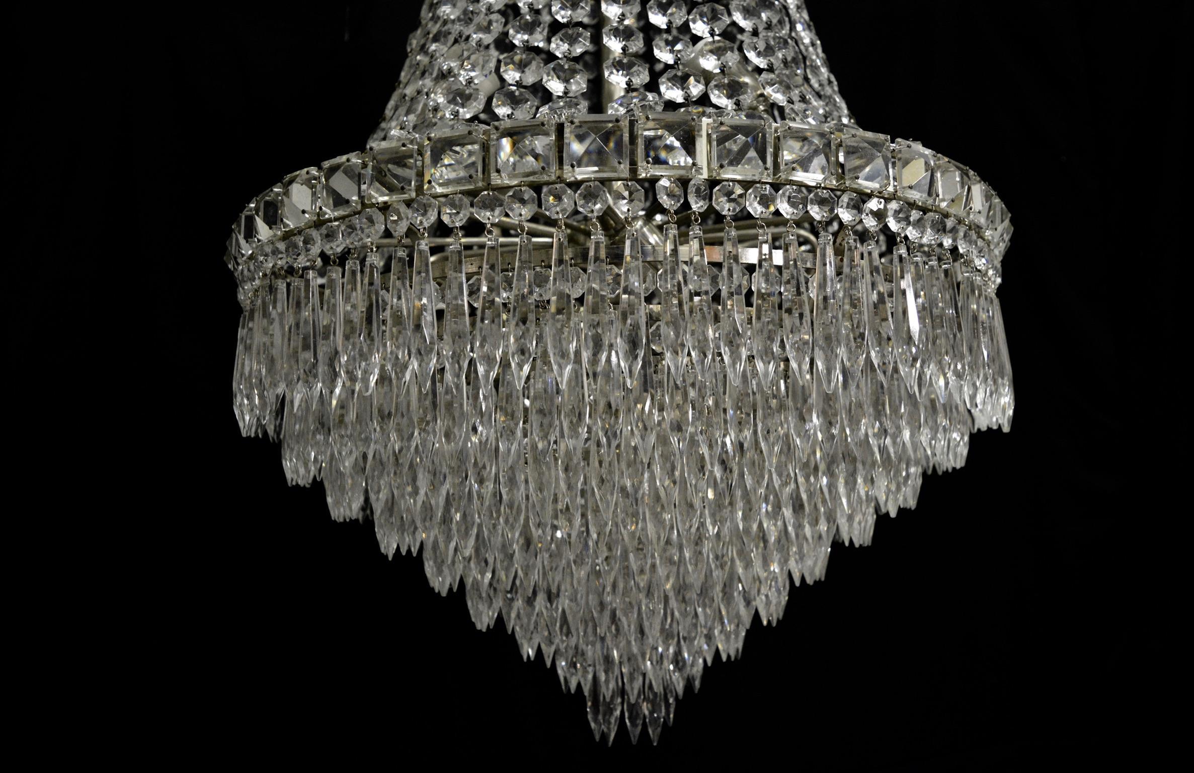 Kronleuchter Kristall Silber ~ Kristall leuchter gebraucht kaufen st bis günstiger