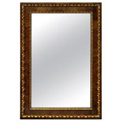 Fine English George II Walnut and Parcel-Gilt Mirror