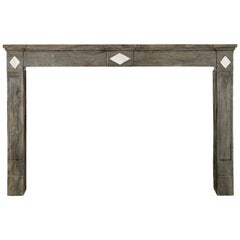 Fine European Antique Fireplace Surround