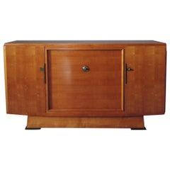 Fine French Art Deco Cherrywood Buffet by Maxime Old