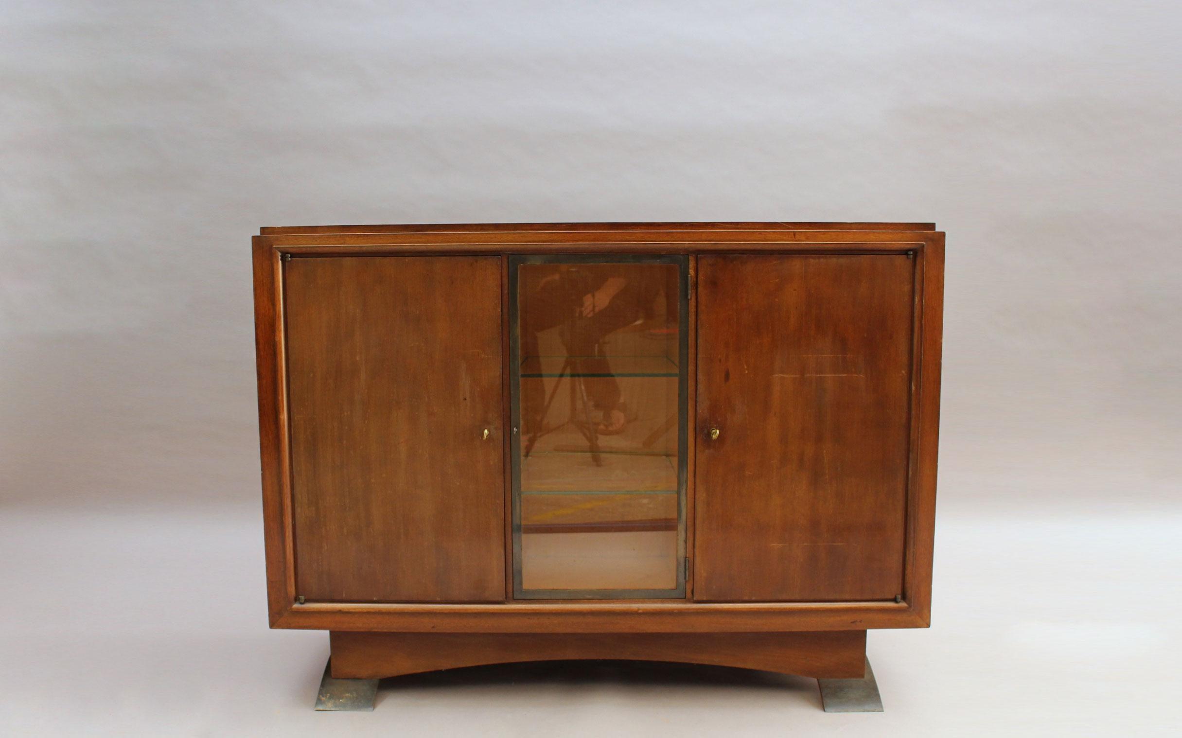 "Petit Buffet Art Deco fine french art deco mahogany buffetalbert guenot for ""pomone"""