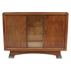 "Fine French Art Deco Mahogany Buffet by Albert Guenot for ""Pomone"""
