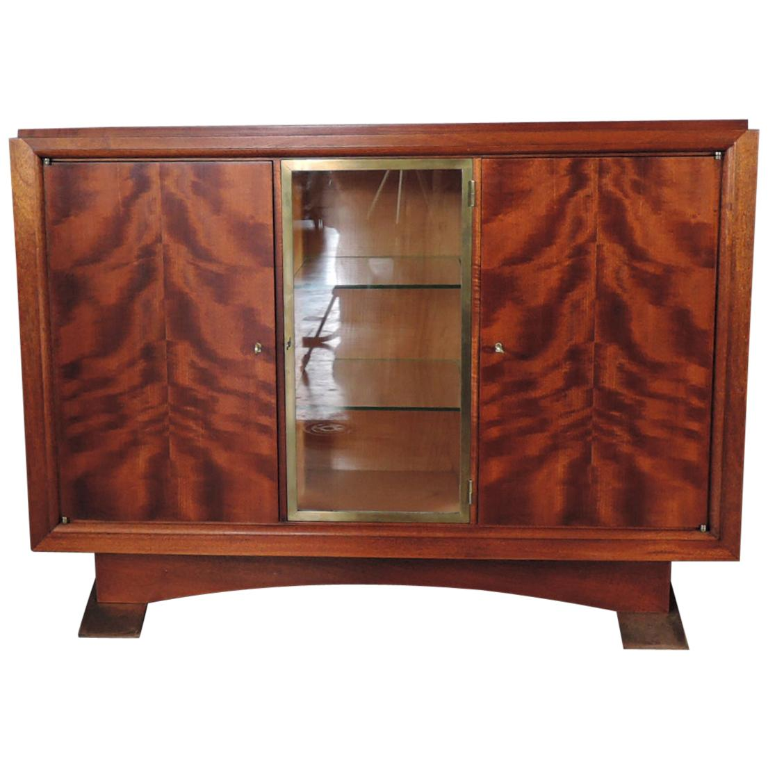 """Fine French Art Deco Mahogany Buffet by Albert Guenot for """"Pomone"""""""