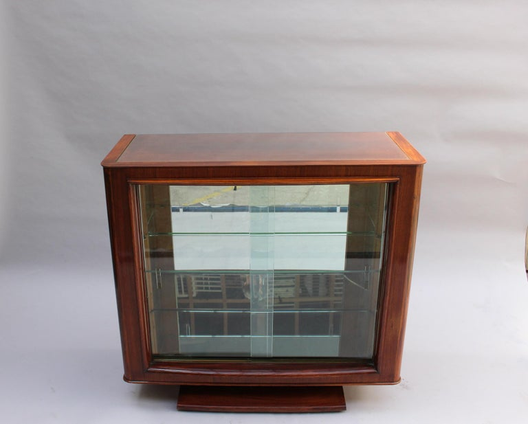 Fine French Art Deco Palisander Sideboard by Maxime Old For Sale 13