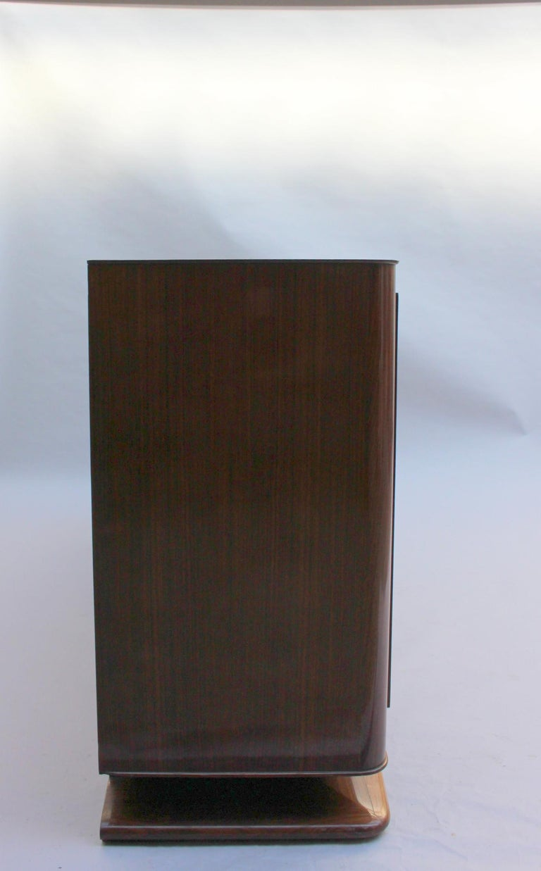 Fine French Art Deco Palisander Sideboard by Maxime Old For Sale 2