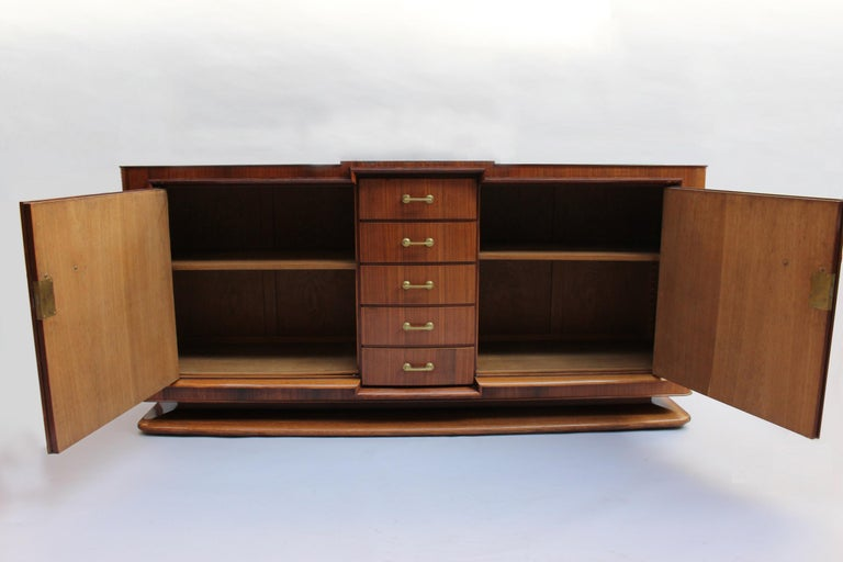 Fine French Art Deco Palisander Sideboard by Maxime Old For Sale 3