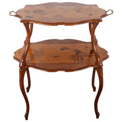 Fine French Art Nouveau Side Table from the Villa La Pausa