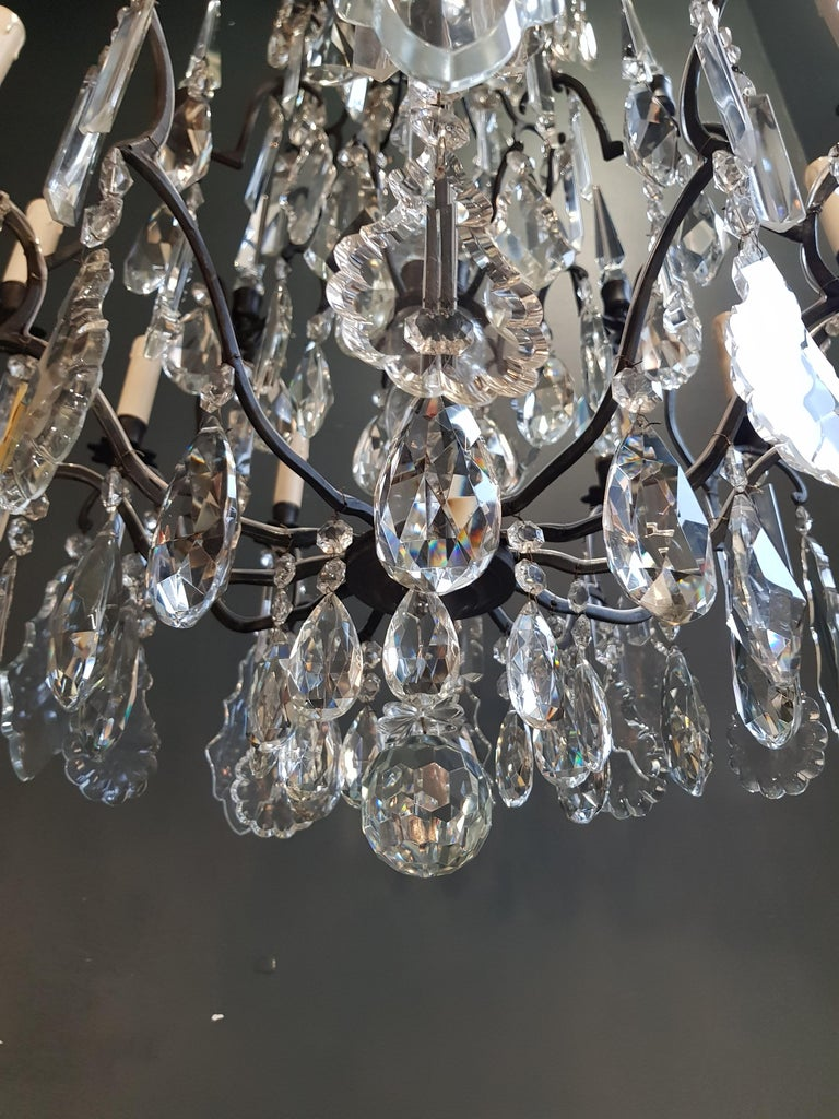 Fine French Crystal Chandelier Ceiling Lamp Lustre Lamp 7