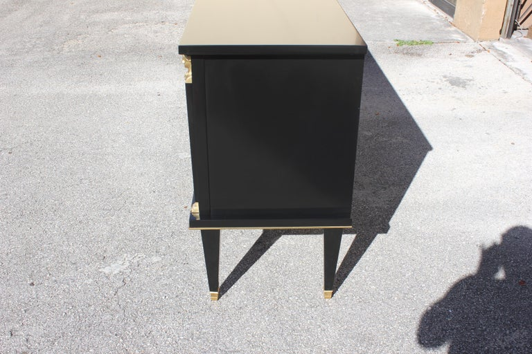 Fine French Empire Style Sideboard or Buffet, circa 1910s For Sale 2