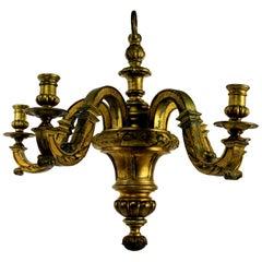Fine French Gilt Bronze Chandelier