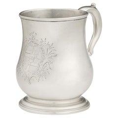 Fine George II Mug Made in London in 1734 by Thomas Farren