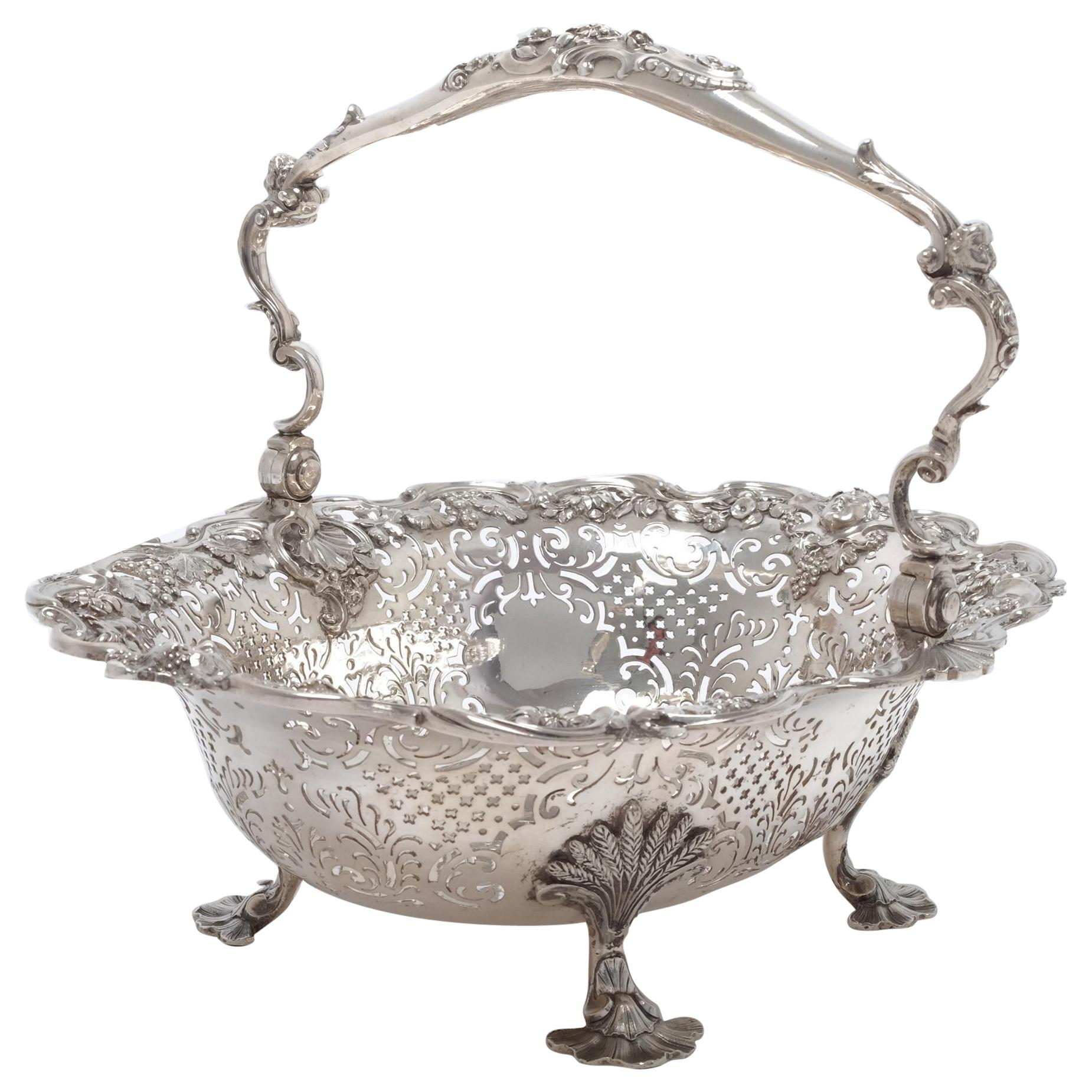 George II Bowls and Baskets