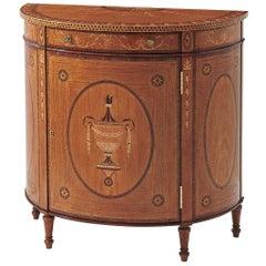 Fine George III Satinwood Cabinet