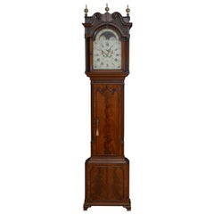Fine Georgian Longcase Clock by Collier, Eccles