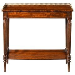 Fine Gillows Regency Mahogany Hall Console Table