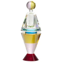 Fine Handcut Crystal Grand Lauderlale Perfume Flacon