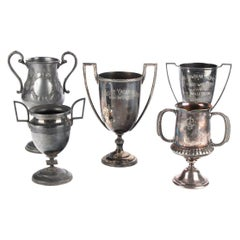 Fine Historical Group of 5 Antique Trophy Cups