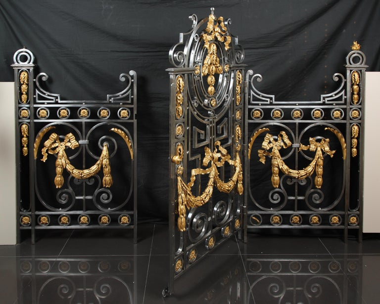 French Fine Interior Gate For Sale