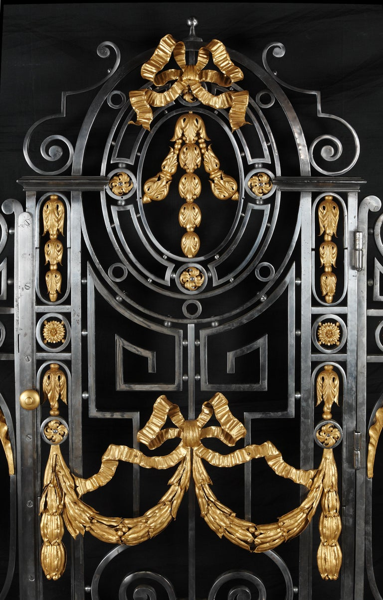 Gilt Fine Interior Gate For Sale