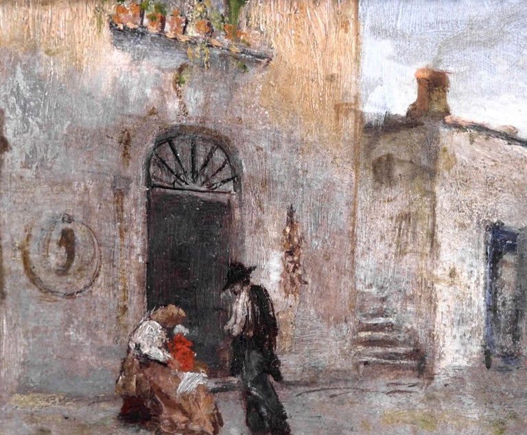 Fine Italian Painting, 19th Century In Good Condition For Sale In Aalsgaarde, DK