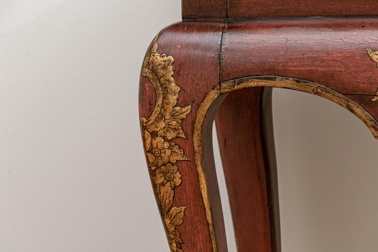 Rococo Fine Italianate Carved and Decorated Console Table For Sale