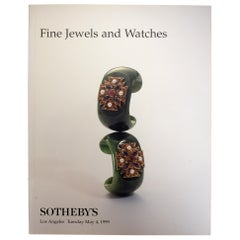 Fine Jewels and Watches. Sotheby's Sale 7312, Los Angeles, May 4, 1999