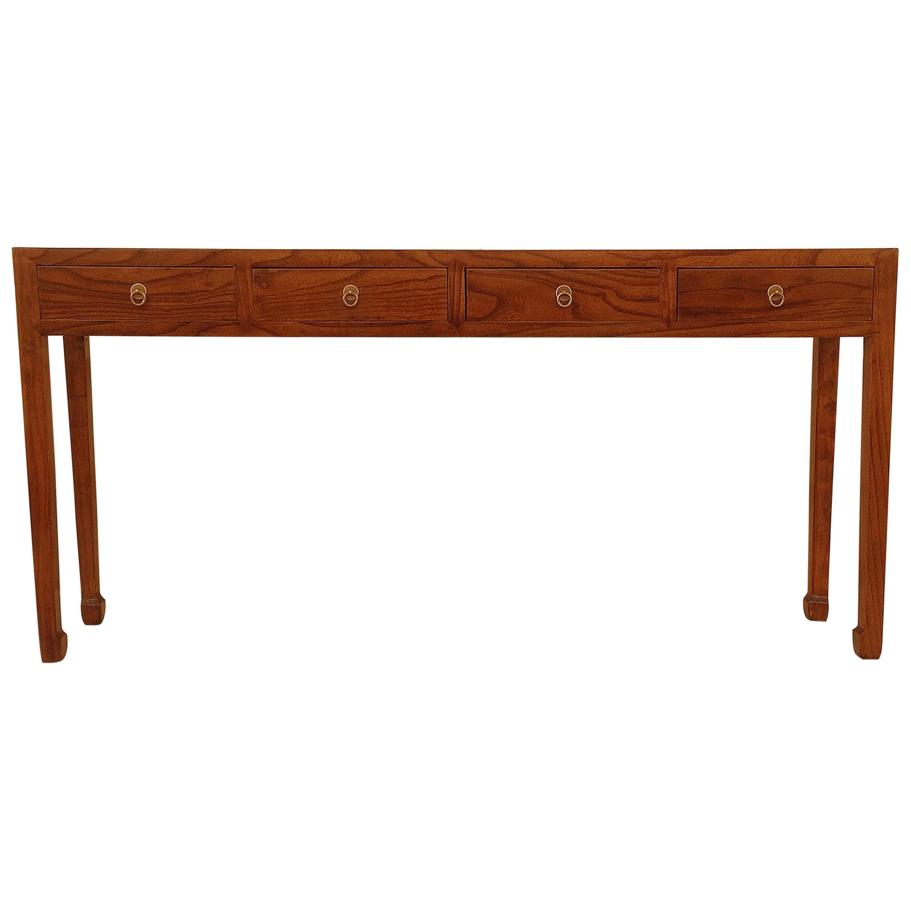Fine Jumu Console Table with Drawers