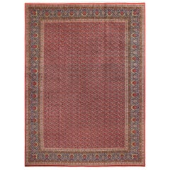 Fine Kork Vintage Tabriz Persian Rug. Size: 12 ft 3 in x 16 ft 7 in