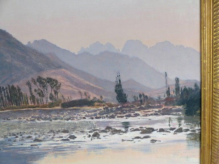 Spanish Francisco Nuñez Losada Fine Landscape Oil Painting on Canvas  For Sale