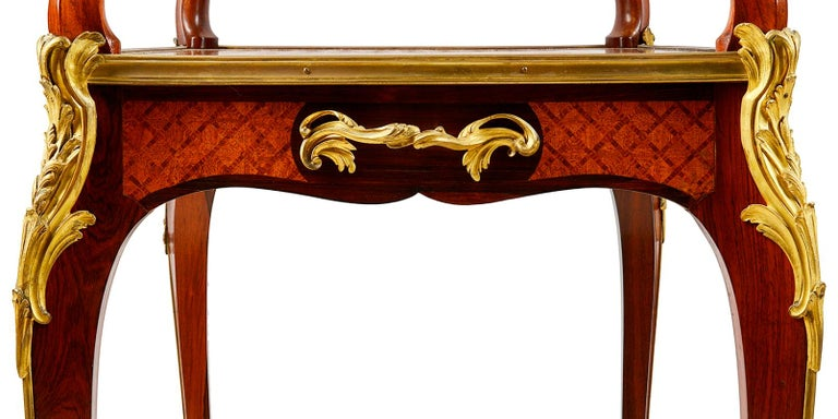 French Fine Late 19th Century Two Tier Etagere For Sale
