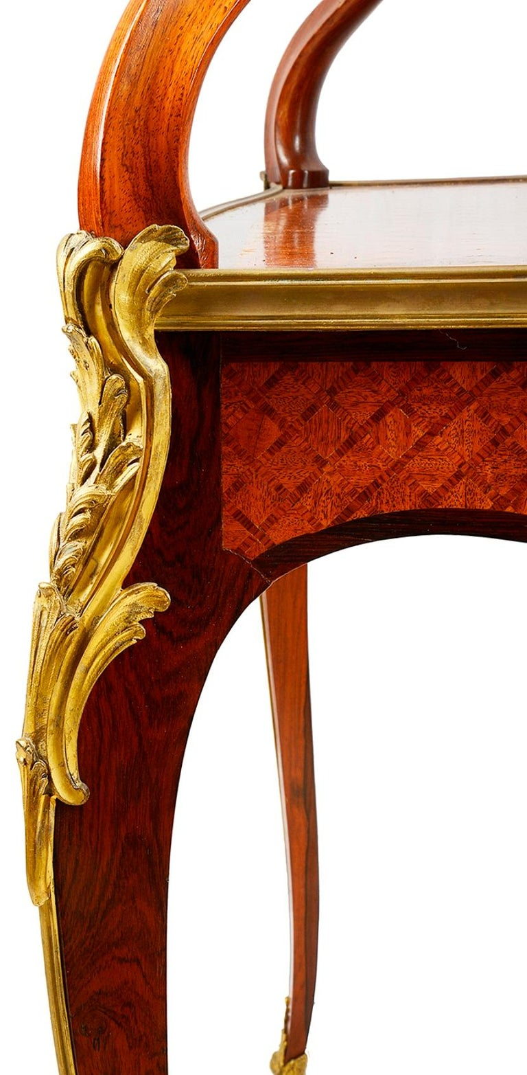 Gilt Fine Late 19th Century Two Tier Etagere For Sale