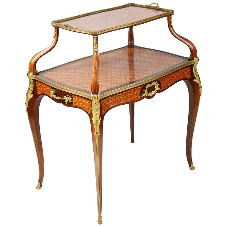 Fine Late 19th Century Two Tier Etagere For Sale