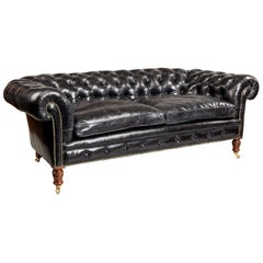 Fine Late Victorian Chesterfield Sofa