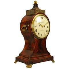 Fine Mahogany Fusee Balloon Clock, Harris, London