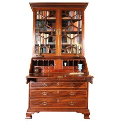 Fine Mahogany Georgian Secretaire, 18th Century