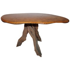 Fine Mid Century Folky Rustic Coffee Table