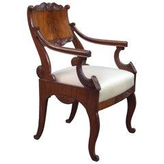 Fine Neoclassical Armchair