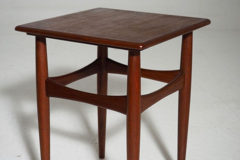 20th Century Fine Nesting Tables in Teak, Danish Architect, 1960s For Sale