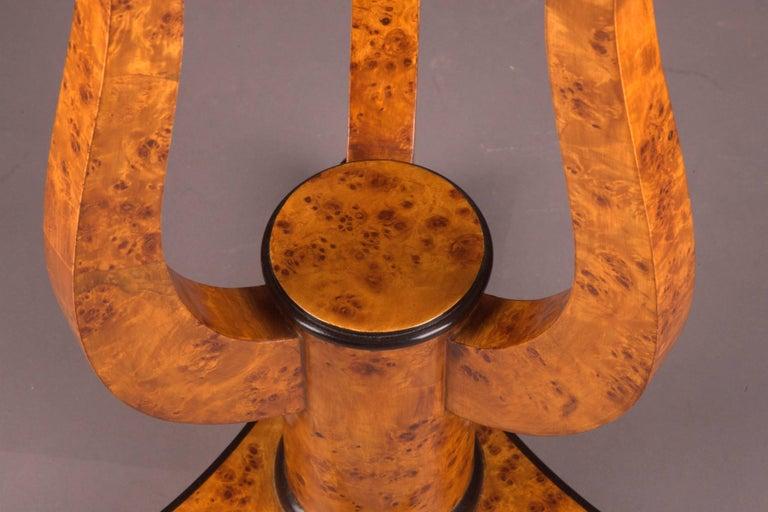 German Fine Occasional Side Table in Vienna Biedermeier Style For Sale